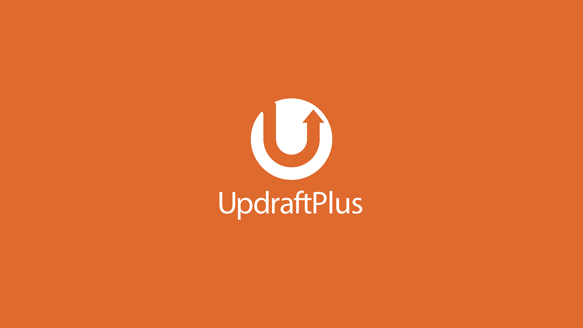 Logo of UpdraftPlus WordPress backup plugin